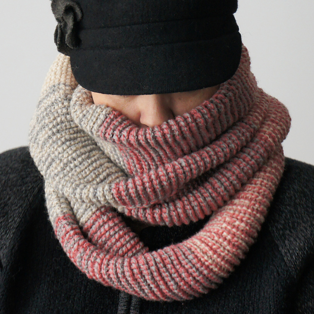 modele snood crochet tunisien