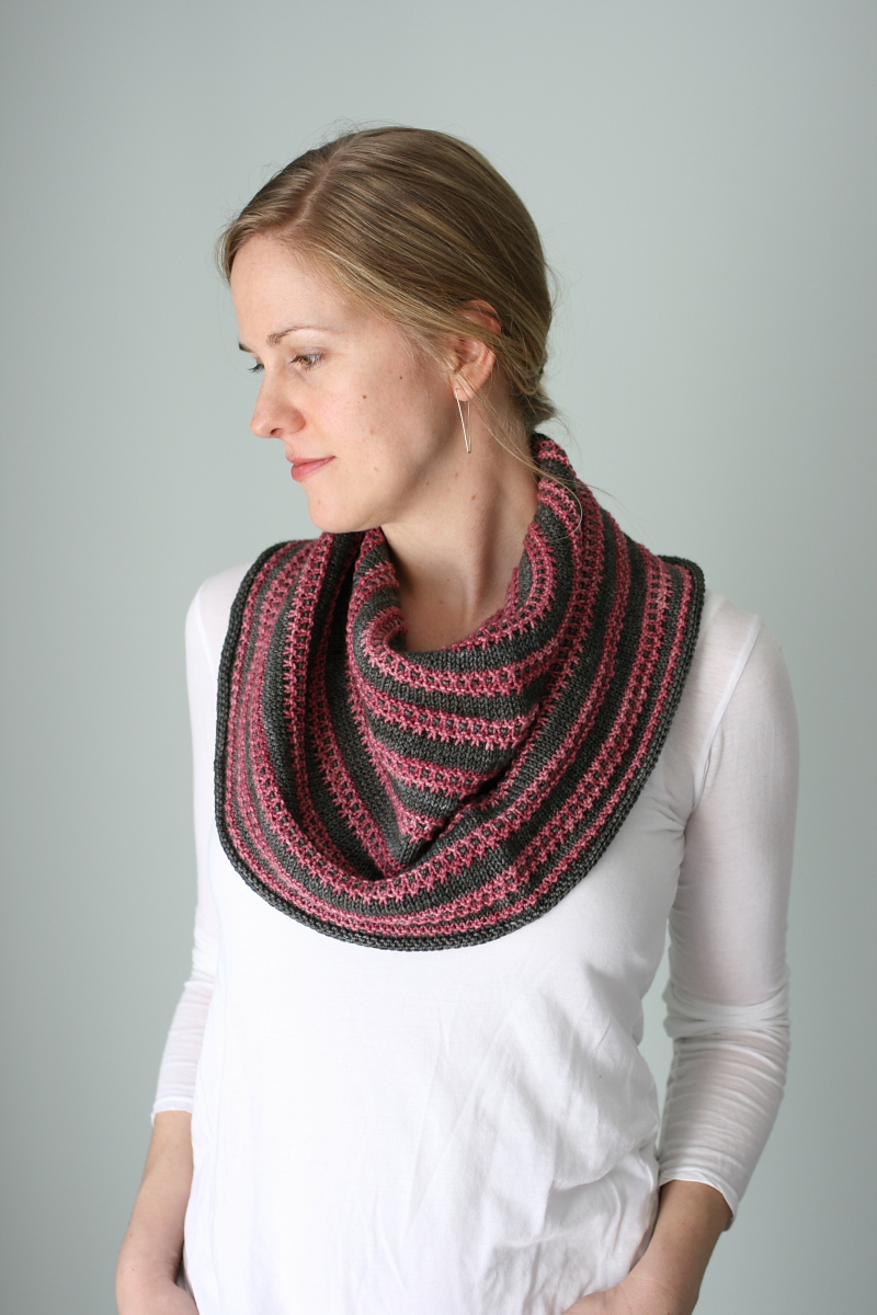 patron tricot col chale