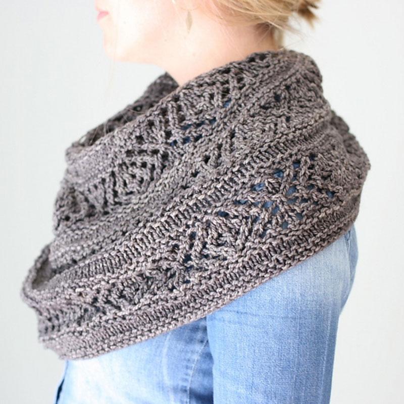 chale en tricot