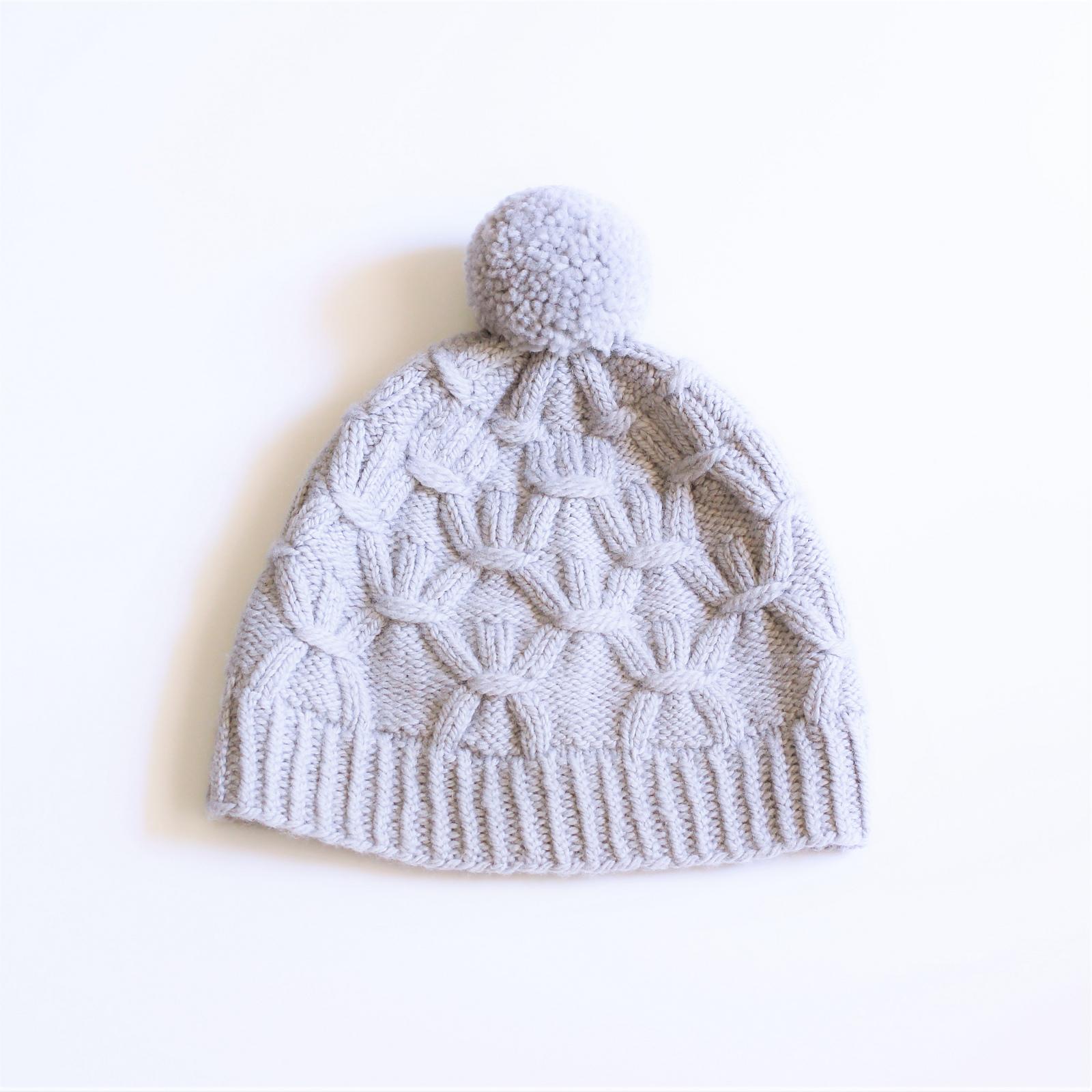 Patron Tricot Bonnet Winter Dusk De The Sweater Collective
