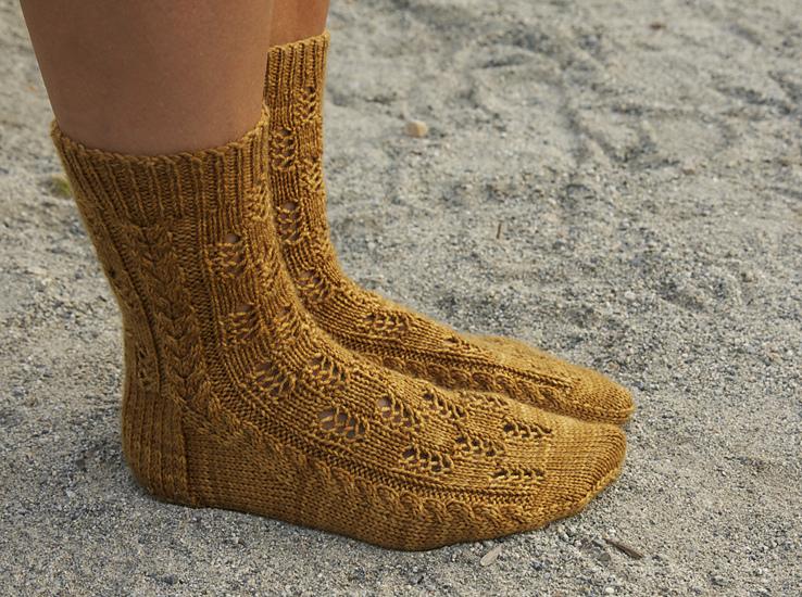 patron tricot chaussettes