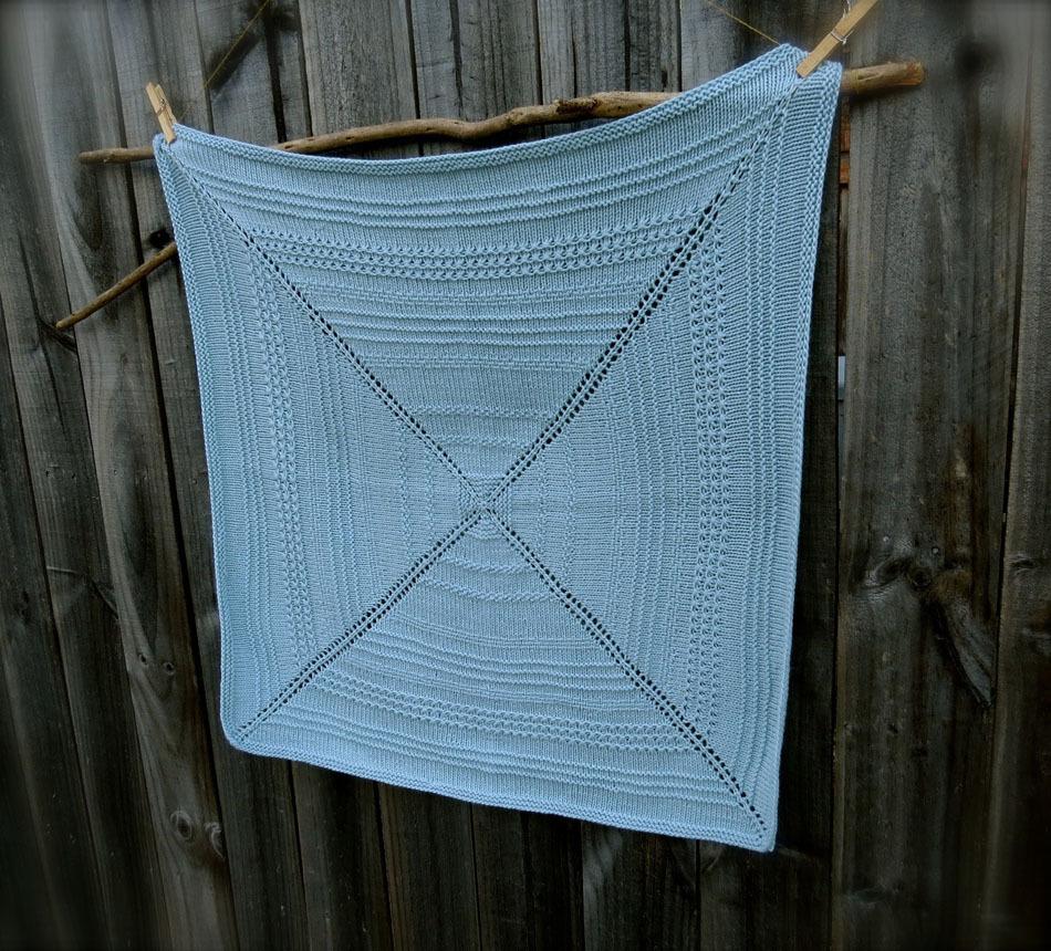 patron couverture laine tricot