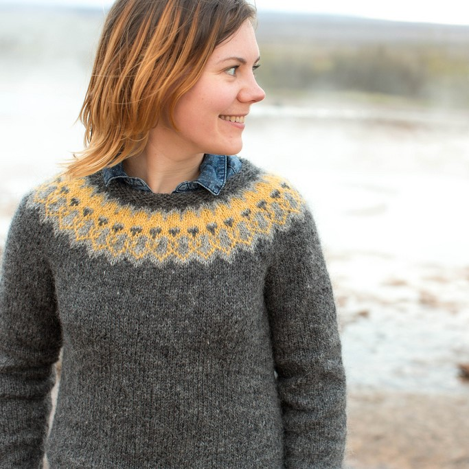 patron tricot pull