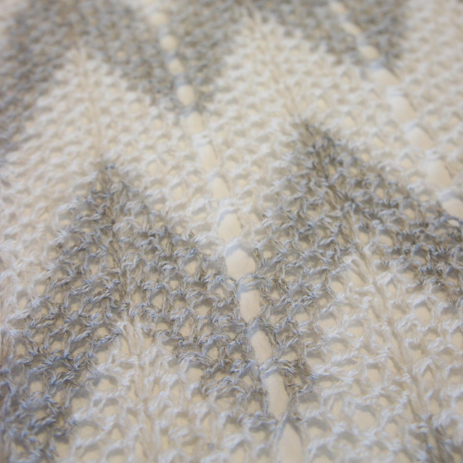 Patron crochet étole dentelle