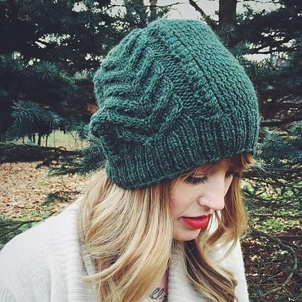 Tuto bonnet slouch tricot - altoservices 797e4d7ed08
