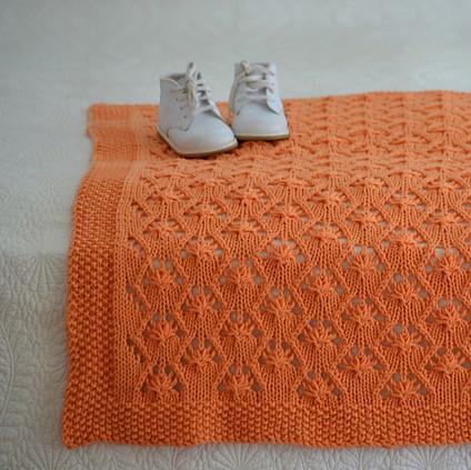 patron tricot couverture de Diana Rozenshteyn