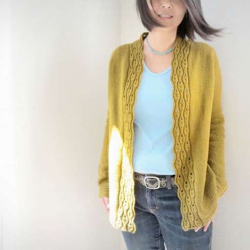 gilet tricot modele