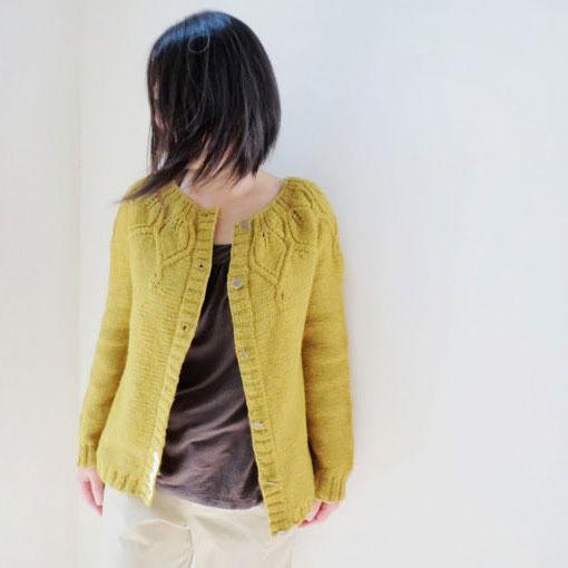 eb6d9ea63 Patron tricot gilet Welcome September de Yellowcosmo