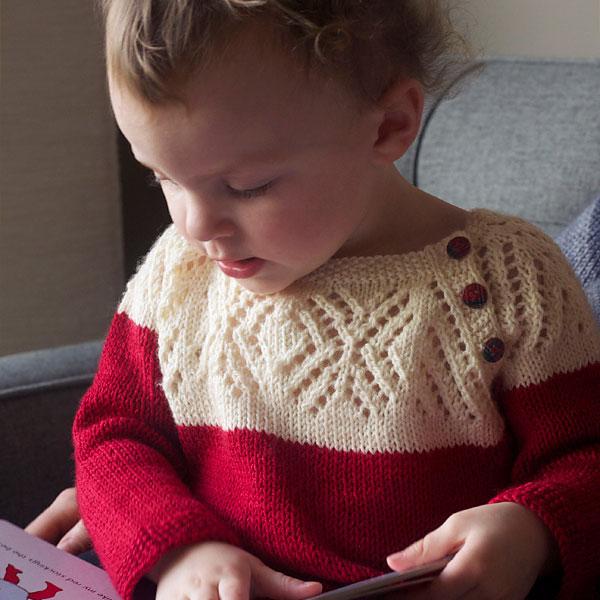 patron tricot pull enfant