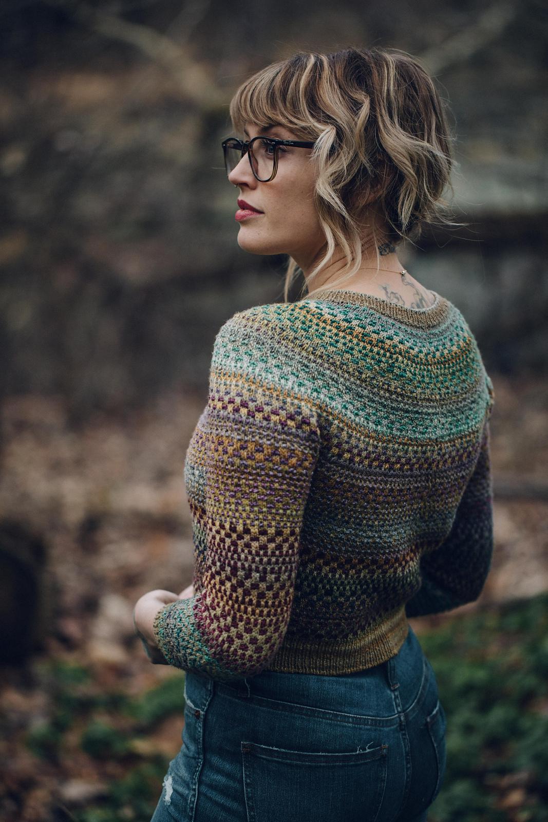 patron tricot pull Shifty par Andrea Mowry, à réserver, en livraison Septembre 2020