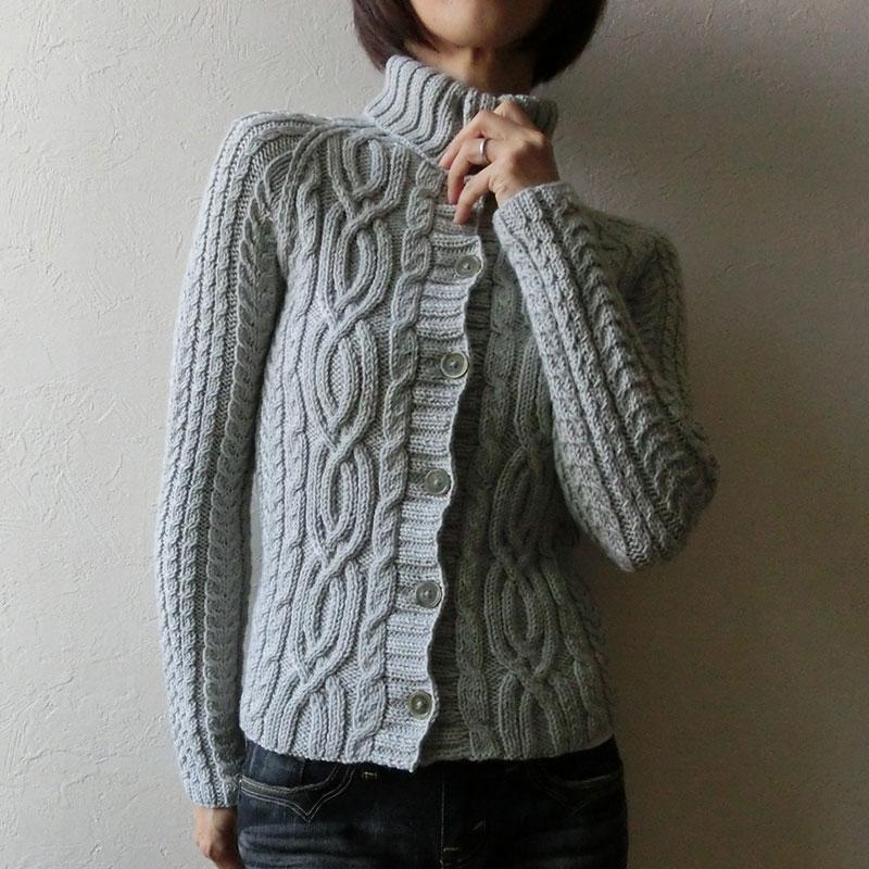 veste tricoter